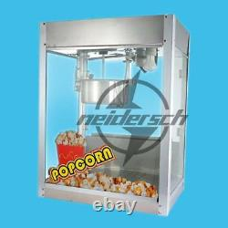 220V 1.2kw Automatic Electric Popcorn Machine Commercial Popcorn Maker