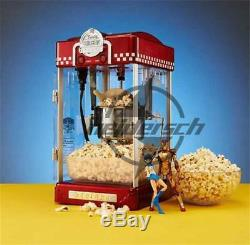 220V 300w commercial Automatic Electric Popcorn Machine Commercial Popcorn Maker