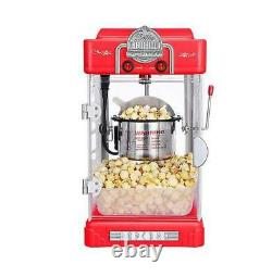 300w commercial Automatic Electric Popcorn Machine Commercial Popcorn Maker 220V