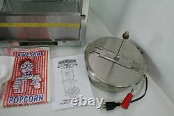 6100 Great Northern Popcorn Red Countertop Foundation Popper Machine 8 Ounce