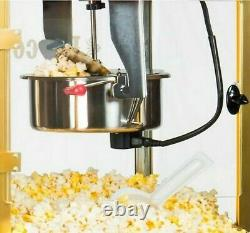 8 oz. Red Popcorn Machine with Concession Cart