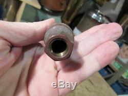 Antique Brass Steam Whistles For A Popcorn Wagon Or Hot Peanut Machine