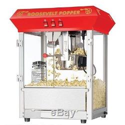 Antique Style Popcorn Popper Machine 3 Popping Position Switch 860 Watts 3 Gal
