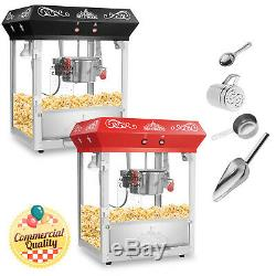 Bar Style Popcorn Machine Maker Popper with 6-Ounce Kettle