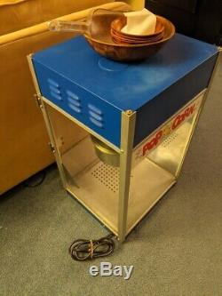 Blue Theater Popcorn Machine by Gold Medal Products Great Set