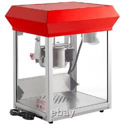 Carnival King Electric Commercial Popper Popcorn Maker Machine Stainless Steel