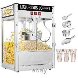 Commercial 8 oz Tabletop Style Popcorn Machine Stainless Steel Kettle Movie 2020