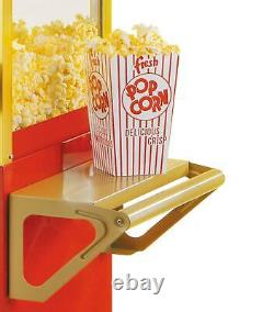 Commercial Business Home Popcorn Popper Maker Machine and Cart 8 Ounce Kettle