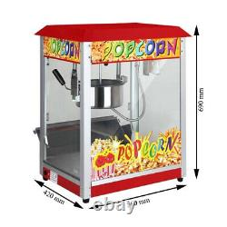 Commercial Electric Popcorn Maker Machine Movie Popcorn 1300W Roof Top