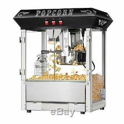 Commercial Kettle Fluffy Popcorn Popper Countertop Style Machine Movie Theater