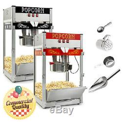 Commercial Popcorn Machine Maker Popper Countertop Style w Large 12-Ounce Kettle
