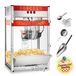 Commercial Popcorn Machine Maker Popper with Extra Large 16-Ounce Kettle