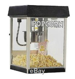 Commercial Popcorn Maker Machine Home Theater 4 oz Kettle Popper Gold Medal