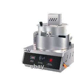 Commercial gas-heating popcorn machine Delicious Round Popcorn