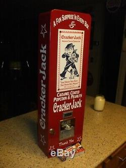 Crackerjack machine popcorn peanuts baseball candy nuts diner mancave