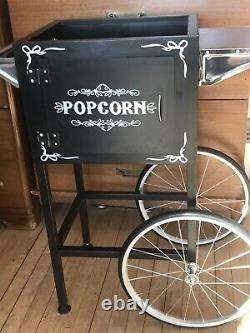 Deluxe Popcorn Trolley Cart w all parts of popcorn machine EXCLUDING Main Unit A