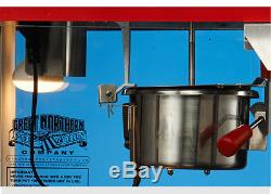 Electric Commercial Automatic popcorn machine with Insulation function 680W 6 oz