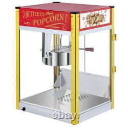 Electric Popcorn Maker Machine Pop Corn Making US Plug Party Home Tabletop Red