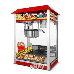 Electric Popcorn Maker Tabletop Theater Style Popcorn Machine 8oz
