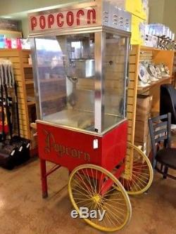 Gold Medal 2001ST Popcorn Machine with Cart