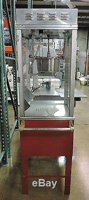 Gold Medal 2452 Ultimate Bronco 8OZ Popcorn Machine with Cart