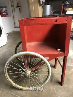 Gold Medal Popcorn Machine Cart. Project. Parts. Not Working. Vintage