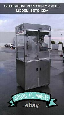 Gold Medal Products, 1618ETS, Popcorn Machine (17129) (Used)