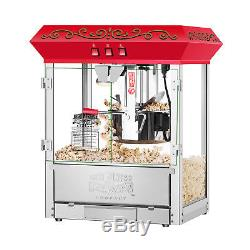 Great Northern 10 oz Perfect Popper Countertop Style Popcorn Machine Red