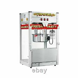 Great Northern 6208 Popcorn Popper Machine 12 Oz Heavy Duty Commercial Red New