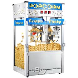Great Northern Commercial Quality Style Popcorn Popper Machine with 12oz Kettle