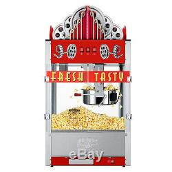 Great Northern Popcorn 20 Ounce Red Commercial Style Popcorn Machine, Movie Thea