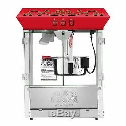 Great Northern Popcorn 5995 10 oz. Perfect Popper Popcorn Machine with Cart Re