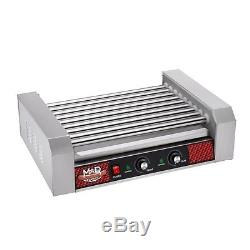 Great Northern Popcorn Commercial 24 Hot Dog 9 Roller Grilling Machine 1800Watts