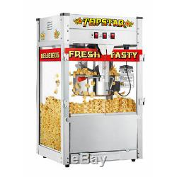 Great Northern Popcorn Commercial Quality Bar Style Popcorn Popper Machine, 12oz