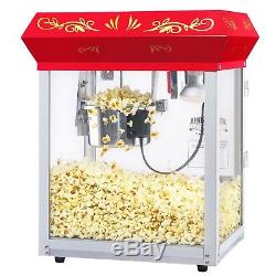 Great Northern Red All Star GNP-450 Classic Popcorn Machine Top, 4 oz