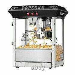 Hot and Fresh Countertop Style Popcorn Popper Machine-Makes Approx. 3 Gallons Pe