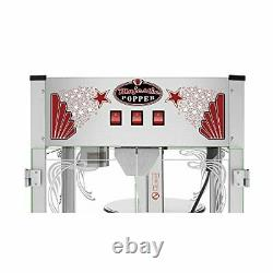 Majestic7.5 Gallons Large Commercial Popcorn Popper Machine 16 Oz