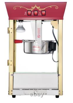 Movie Theater Popcorn Machine 8 Oz For Home Popcorn Poppers That Use Oil Vintage