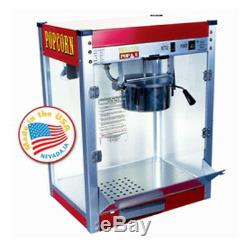 Paragon 6 oz. Theater Popcorn Machine Style Red Concession Snack 1106110