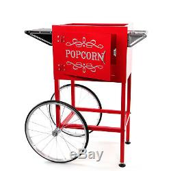 Paramount Popcorn Machine Cart / Trolley Section Red