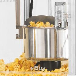 Popcorn Maker Cart Kettle Stand Popper Air Hot Machine Nostalgic Old Fashioned