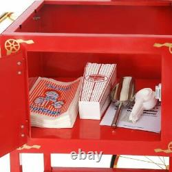 Replacement Cart Stand Large Great Northern Popcorn Popper Maker Machine Red New