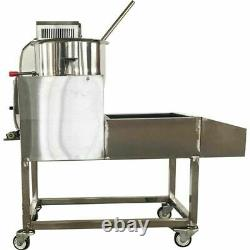 Semi-automatic Gas Electric Popcorn Machine 110V High Quality Stainless Steel