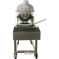 Semi-automatic Popcorn Maker Fuel Gas Machine with 110V Electric Stirrer