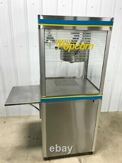 Star Commercial Popcorn Machine WithStand G18-Y 18oz Kettle