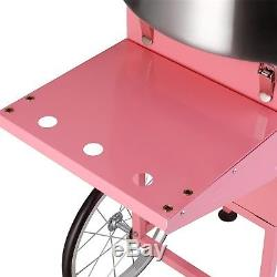 Superior Popcorn Commercial Cotton Candy Cart Machine Floss Maker Electric