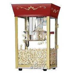 Vintage Style Great Northern Red Antique Style Popcorn Popper Machine